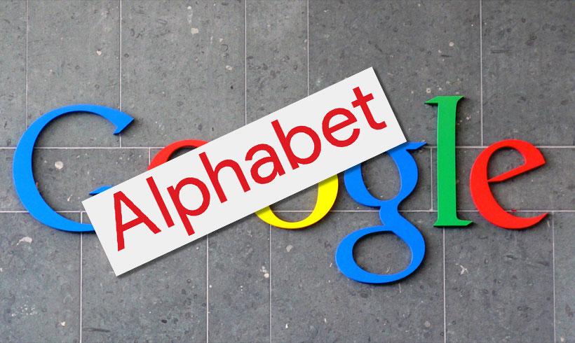 Google annonce le nom de sa Holding : Alphabet