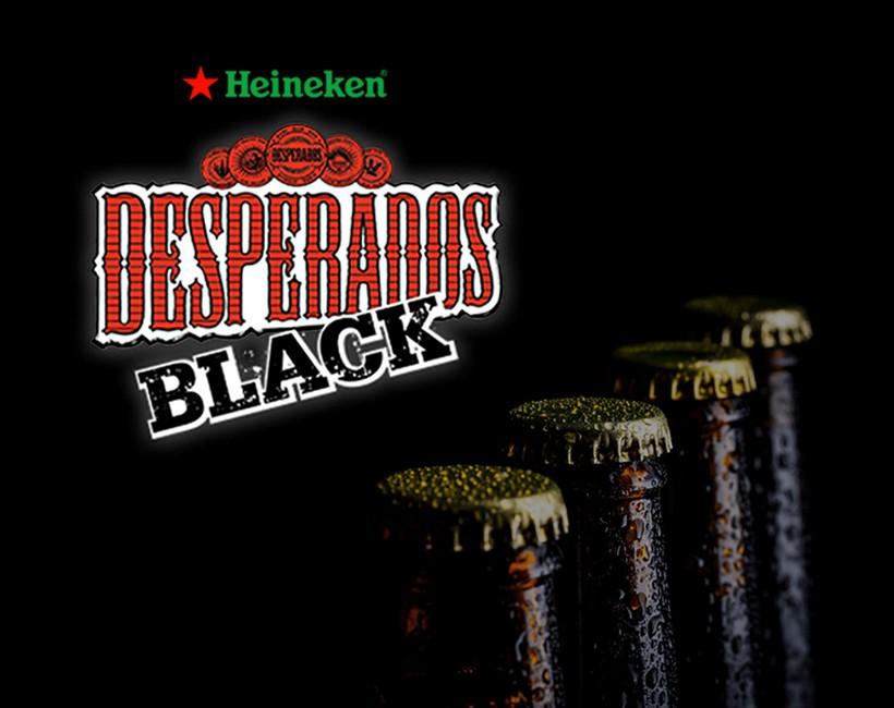 Nos références naming : Desperados Black chez Heineken