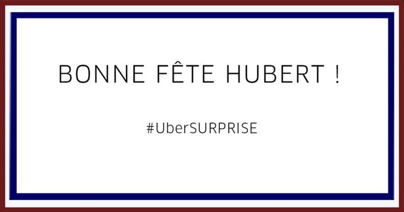 Bonne fête Uber !