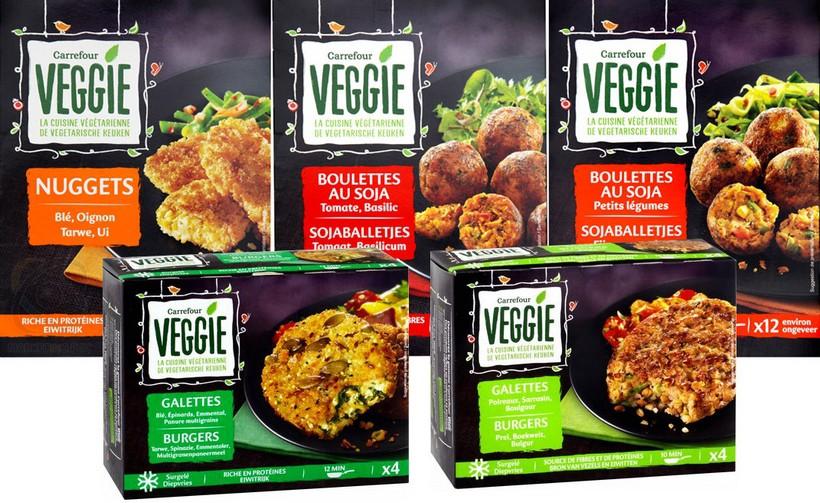 Veggie, première marque végétarienne de distributeur