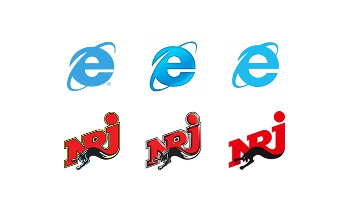 L'évolution des logos à travers les années