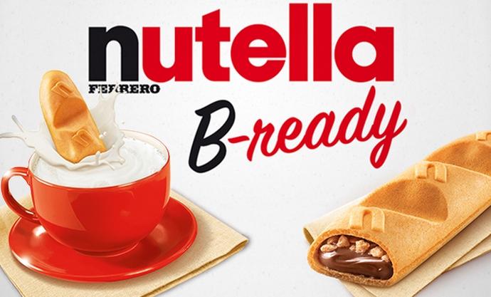 B-ready la nouvelle marque de Nutella