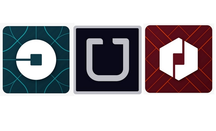 Uber change son logo