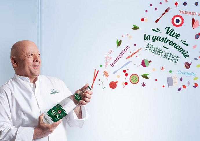Badoit célèbre la gastronomie française !