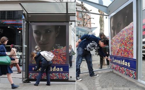 Street marketing chocolat (3)
