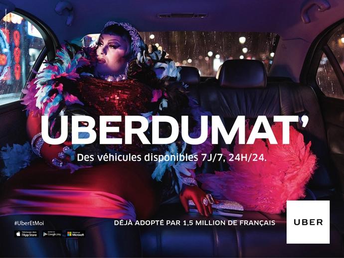 Uber joue avec les mots pour ses 4 ans