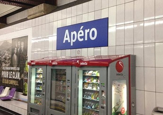 Les stations de métro changent de nom pour le 1er Avril