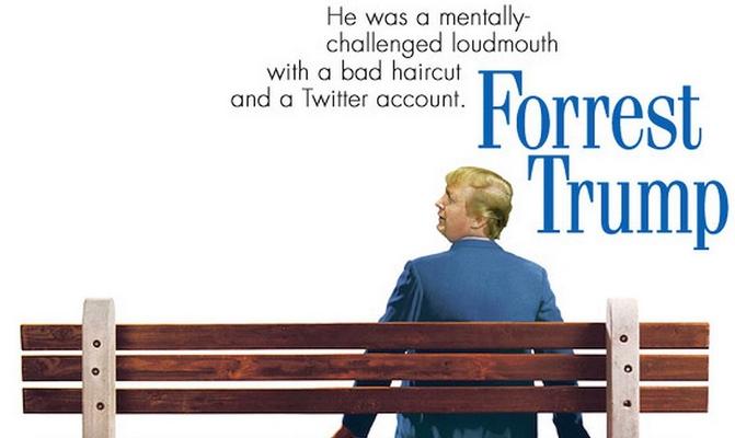 Trump fait son cinéma sur Twitter avec #trumpfilmposter