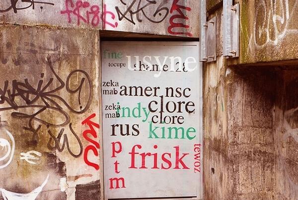 Street art : Les graffitis deviennent lisibiles
