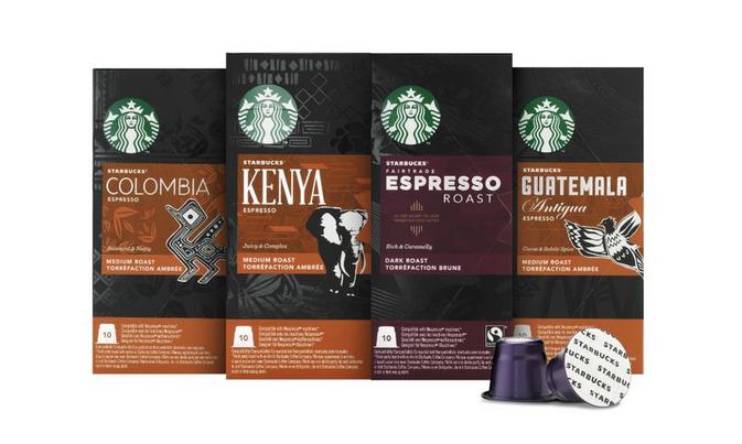 Starbucks se lance dans les dosettes type Nespresso