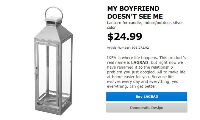 Ikea change le nom de ses produits