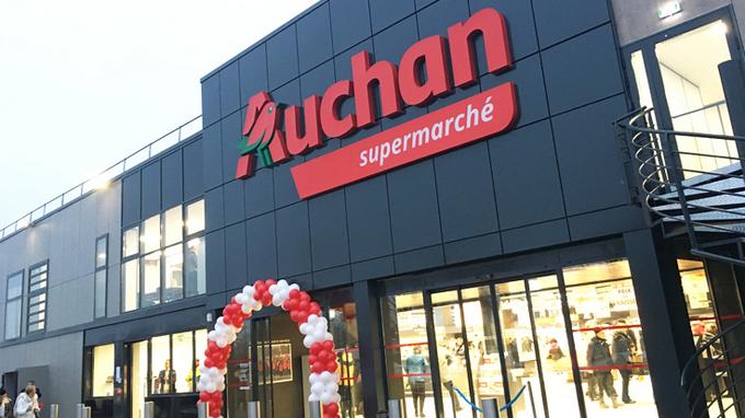Auchan change le nom de ses magasins
