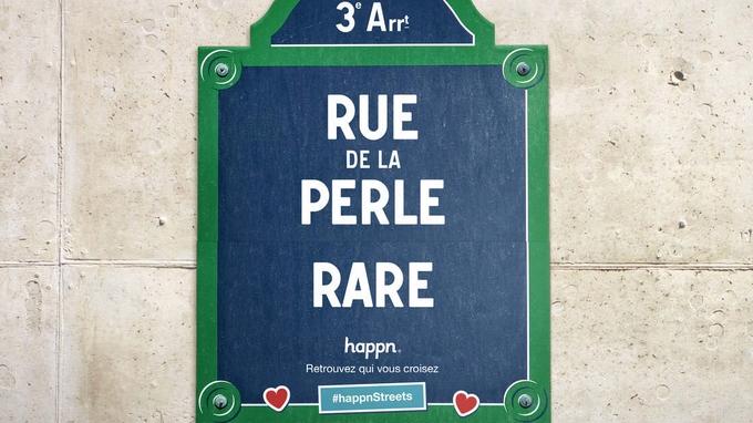 Happn change le nom des rues parisiennes