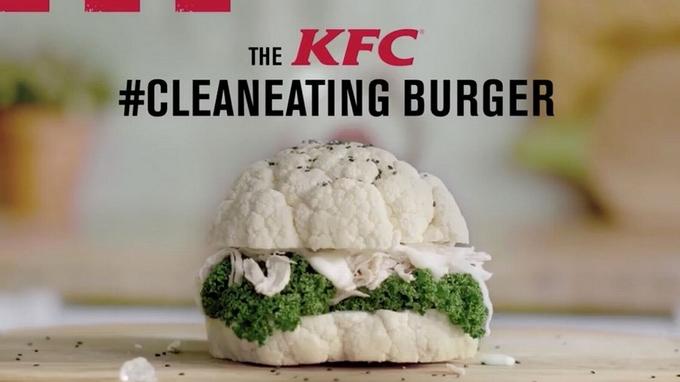 KFC : Un nouveau burger super healthy