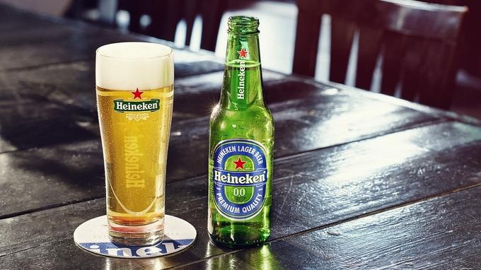 Heineken lance sa bière sans alcool