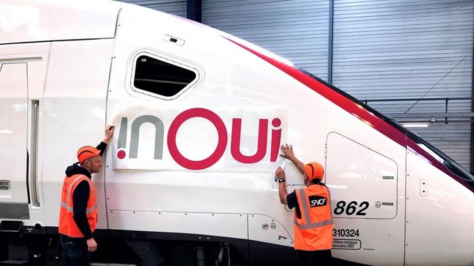 InOui : Le nouveau nom des TGV