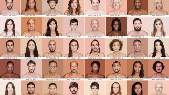 Pantone, le nuancier de l'humain d'Angélica Dass