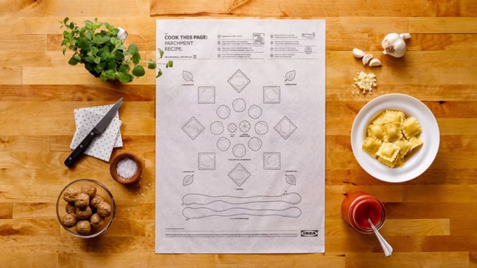 Ikea : Des notices version cuisine