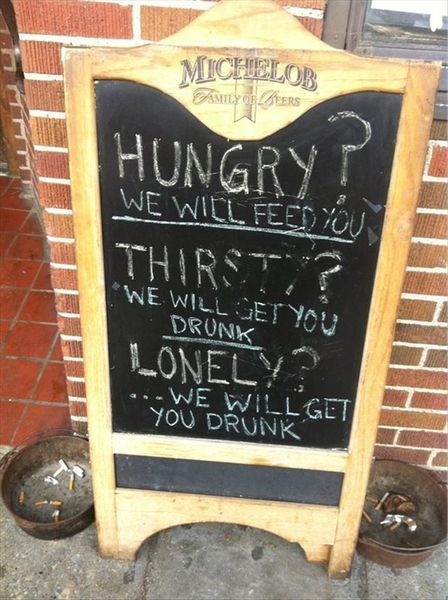 Pancarte Message Humour (14)