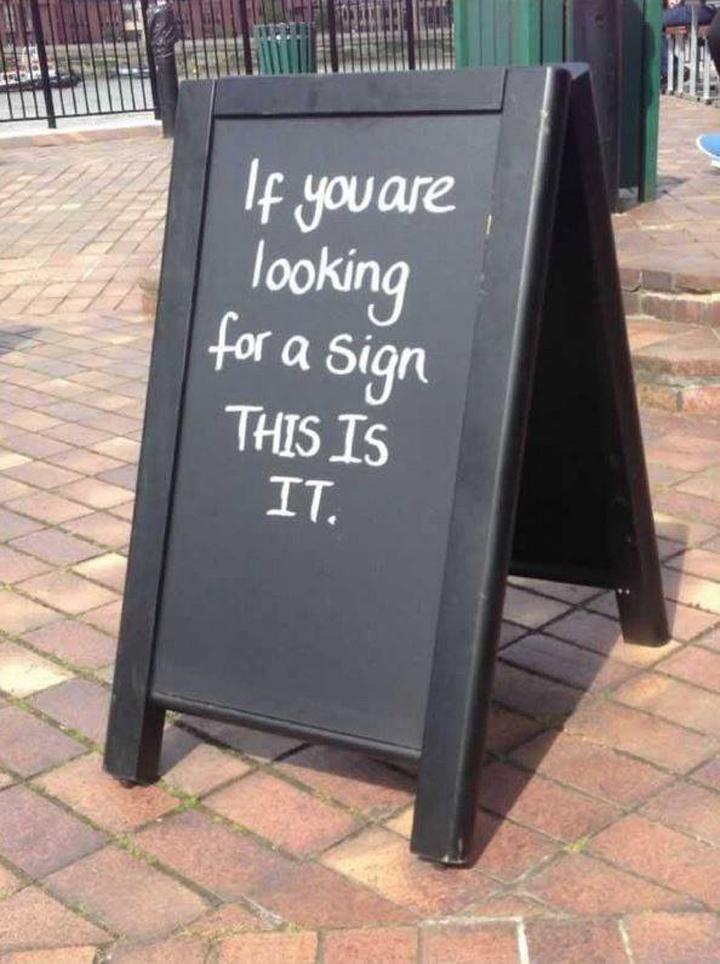 Pancarte Message Humour (6)