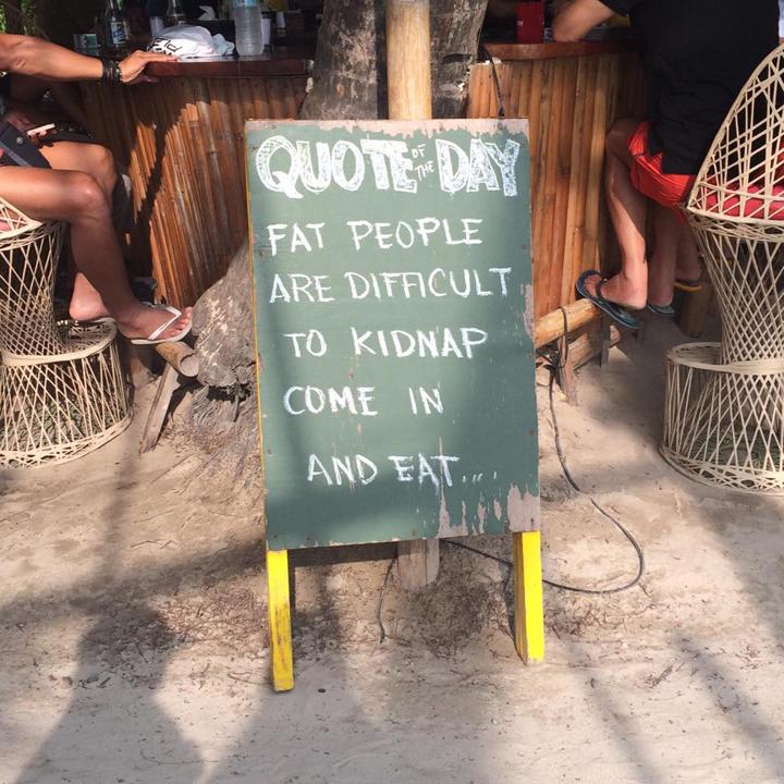 Pancarte Message Humour (7)
