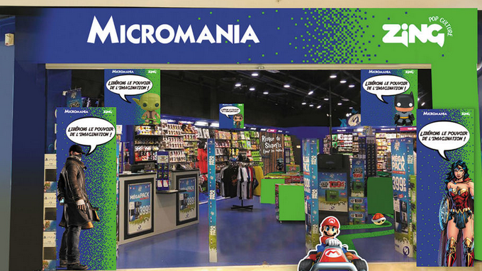 De Micromania à Zing, une fusion dédiée à la pop culture