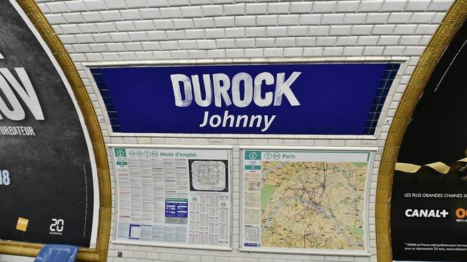 L'hommage à Johnny de la RATP