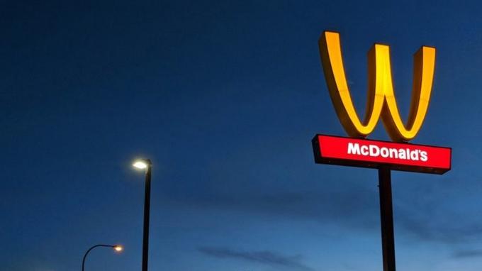 McDonald's utilise son «M» pour faire passer des messages