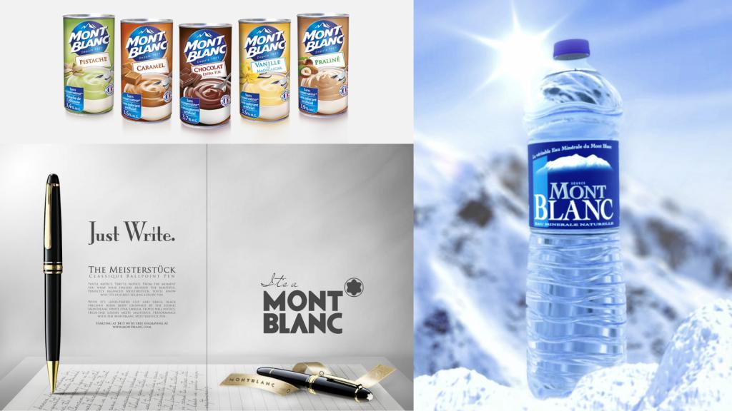 mont blanc nom de marque identique marques homonymes agence de naming énékia