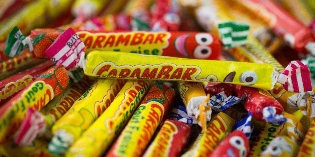 photo carambar bonbon sucrerie noms de marques de notre enfance agence de naming énékia